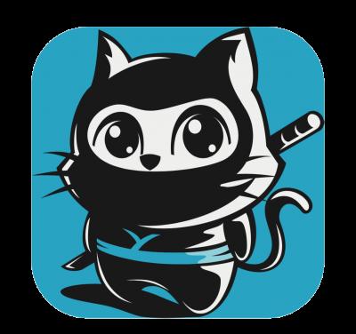 Logo Ninja Kitty Music Library